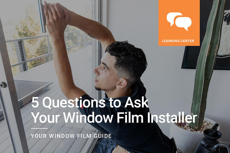 5 Questions to Ask Your Window Tint Installer
