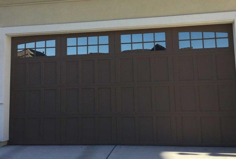 Before and After: Window Film for Garage Door Windows