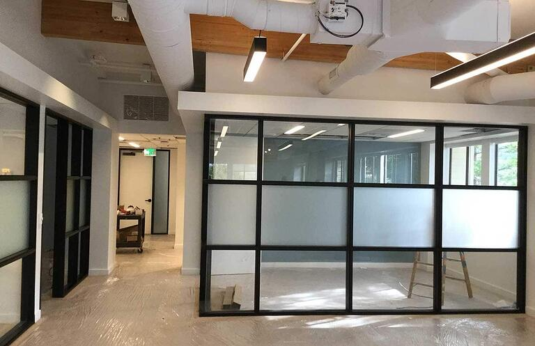 Decorative Window Film for the Office in Marin County